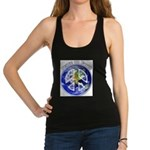 Peace on Earth II Racerback Tank Top