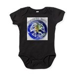 Peace on Earth II Baby Bodysuit