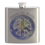 Peace on Earth II Flask
