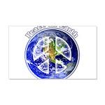 Peace on Earth II 20x12 Wall Decal