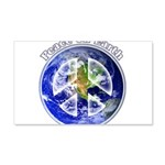 Peace on Earth II 20x12 Wall Decal