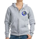 Peace on Earth II Women's Zip Hoodie