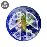 "Peace on Earth II 3.5"" Button (10 pack)"