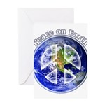Peace on Earth II Greeting Card