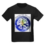 Peace on Earth II Kids Dark T-Shirt