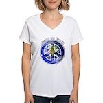 Peace on Earth II Women's V-Neck T-Shirt