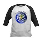 Peace on Earth II Kids Baseball Jersey