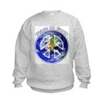 Peace on Earth II Kids Sweatshirt