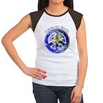 Peace on Earth II Junior's Cap Sleeve T-Shirt