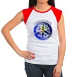 Peace on Earth II Junior's Cap Sleeve T-Shirt