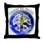 Peace on Earth II Throw Pillow