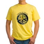 Peace on Earth II Yellow T-Shirt