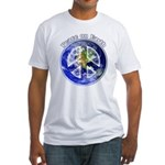 Peace on Earth II Fitted T-Shirt