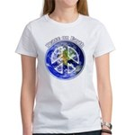 Peace on Earth II Women's Classic White T-Shirt