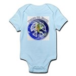 Peace on Earth II Infant Bodysuit