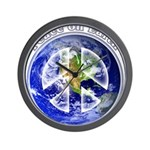 Peace on Earth II Wall Clock