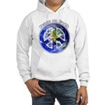 Peace on Earth II Hooded Sweatshirt