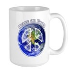Peace on Earth II 15 oz Ceramic Large Mug