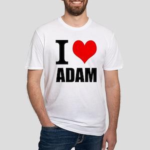 I Heart Adam Fitted T-Shirt
