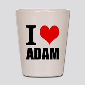 I Heart Adam Shot Glass