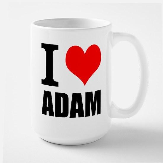 I Heart Adam Large Mug