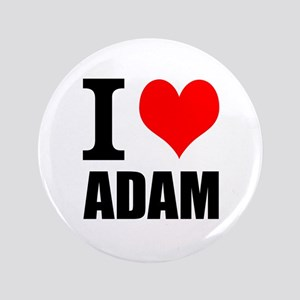 "I Heart Adam 3.5"" Button"