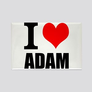 I Heart Adam Rectangle Magnet