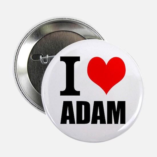 """I Heart Adam 2.25"""" Button"""