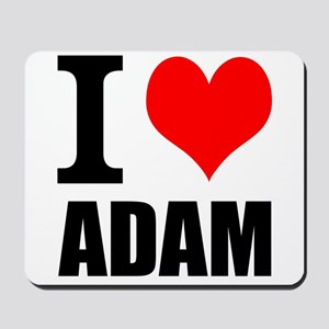 I Heart Adam Mousepad