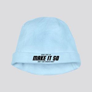 MAKE IT SO baby hat