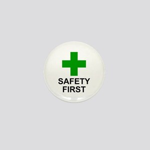 SAFETY FIRST - Mini Button