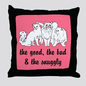 The Snuggly Throw Pillow