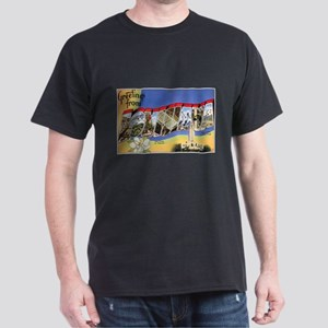 Louisiana Greetings (Front) Dark T-Shirt