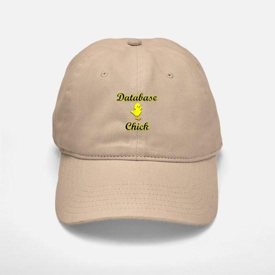 Database Chick Baseball Baseball Cap