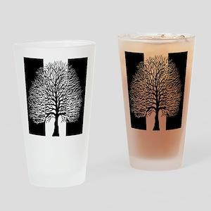 Oak Tree, Two Tone, Drinking Glass