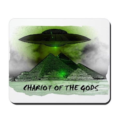 chariot of the gods Mousepad