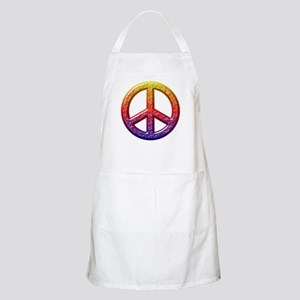 Groovy Peace Symbol I Light Apron
