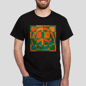 Peace Quilt II Dark T-Shirt