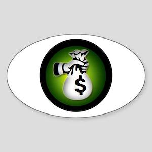 WINNER Sticker (Oval)