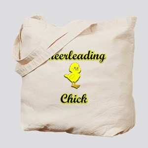 Cheerleading Chick Tote Bag