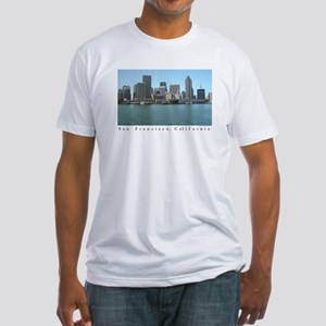 San Francisco Waterfront Gifts  Fitted T-Shirt