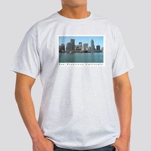 San Francisco Waterfront Gifts  Ash Grey T-Shirt