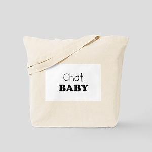 Chat baby Tote Bag
