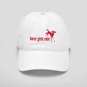 horse girls rule Cap