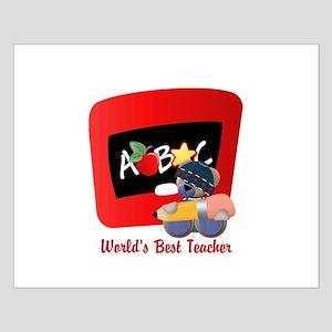 Teacher TeddyBear Small Poster