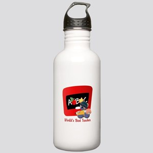 Teacher TeddyBear Stainless Water Bottle 1.0L