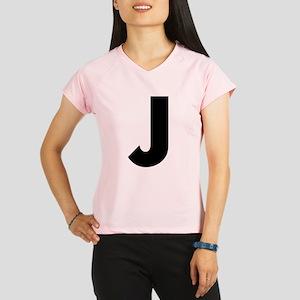 Letter J Performance Dry T-Shirt