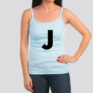 Letter J Jr. Spaghetti Tank