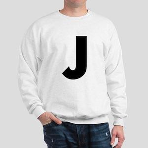 Letter J Sweatshirt