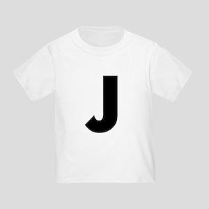 Letter J Toddler T-Shirt